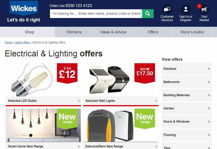 Wickes Discount Code